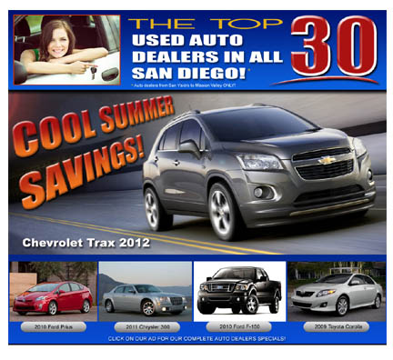 san diego used auto dealers   the top car dealers in san diego